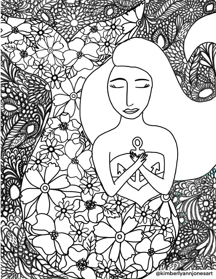 Mermaid_Coloring_Sheet